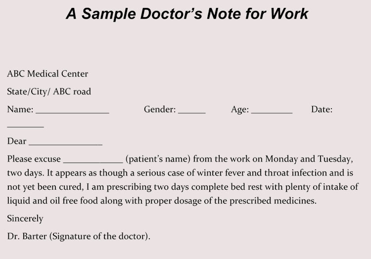 how employers know if employees are using fake doctors notes  u00ab fake doctors note templates  u0026 excuses
