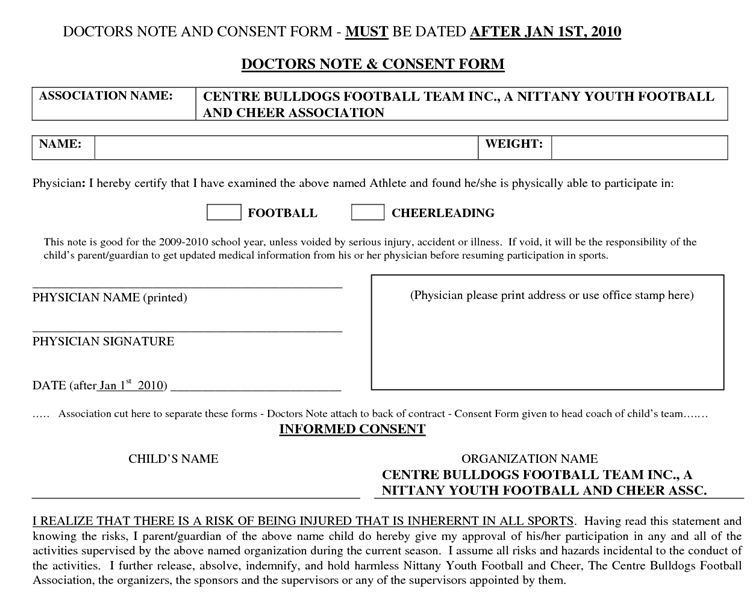 Fake Doctors Note Templates & Excuses