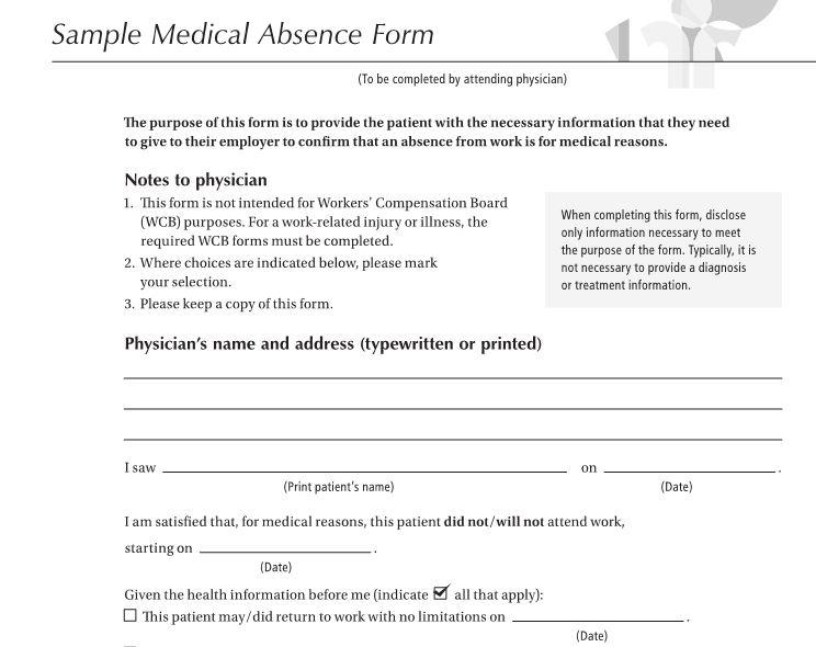 fake doctors note templates  u0026 excuses